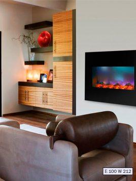 Electric gas fireplace padideh model e100 w212 1 268x358 - شومینه گازی و برقی پدیده مدل e100