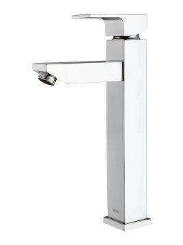 Kelar Tall Basin Mode Flat3 268x358 - شیر روشویی پایه بلند کلار مدل فلت