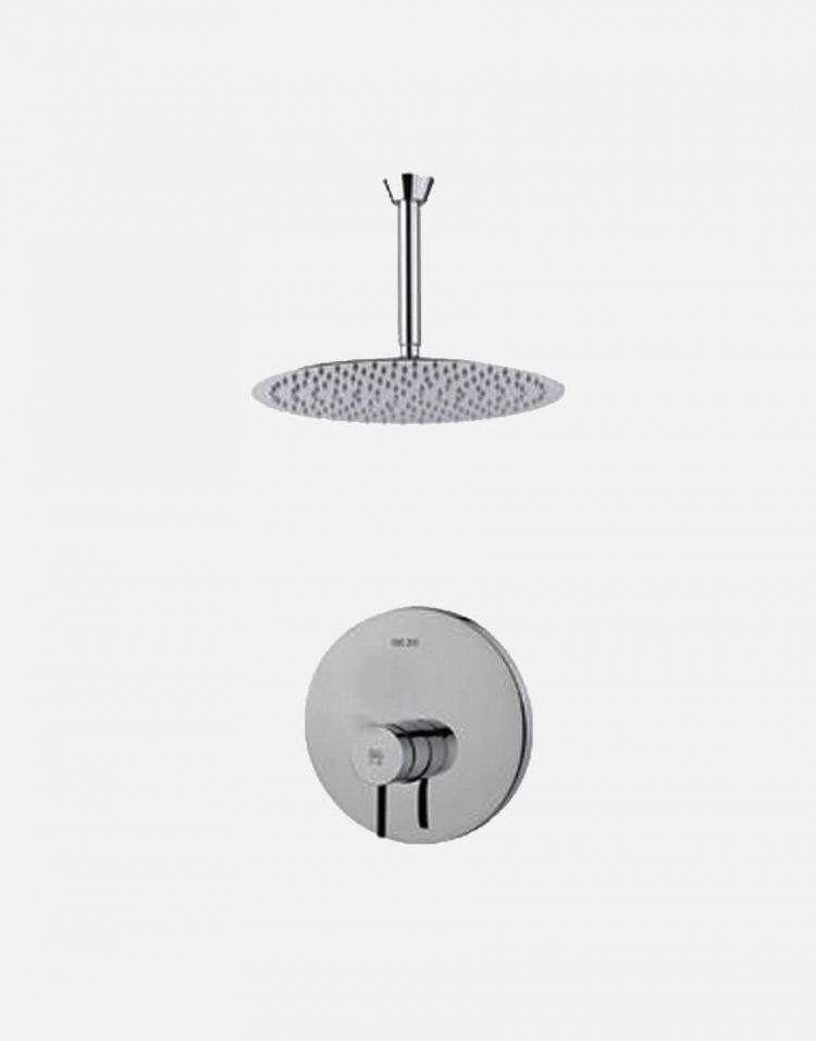 Kwc Built in Shower Systems style1 Zoe Model1 1 750x957 - دوش کامل توکار مدل زو تیپ ۱