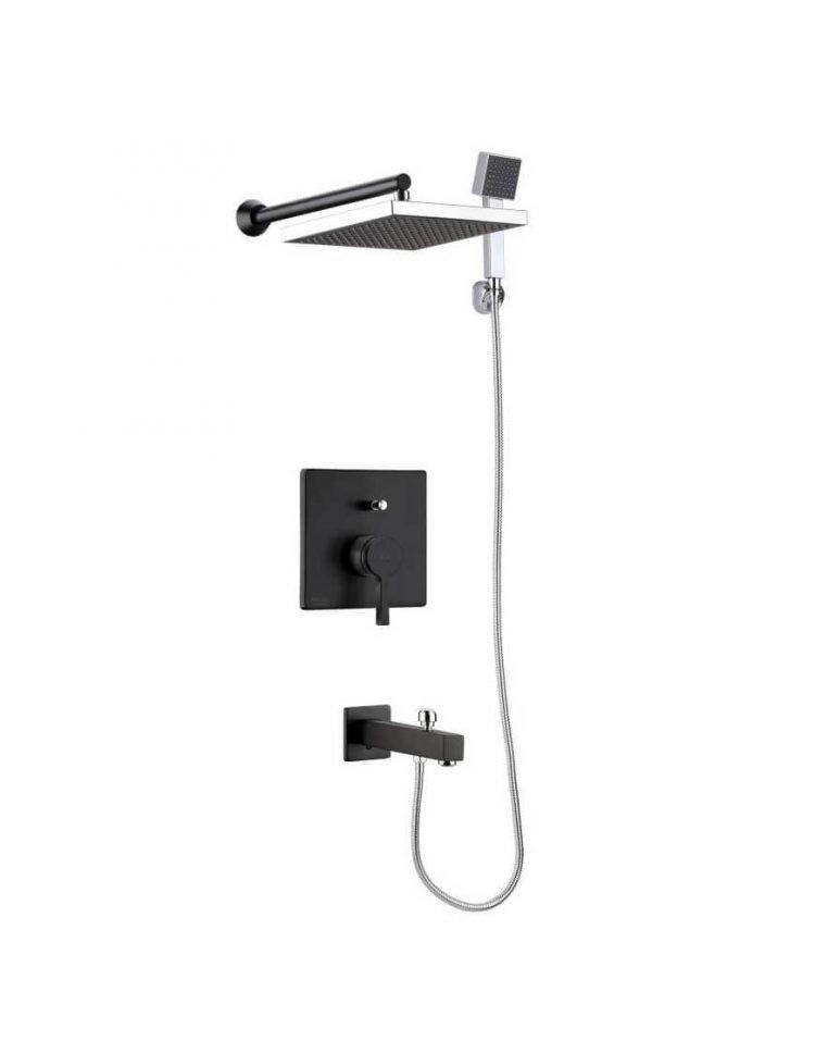 Kwc Built in Shower Systems style3 Ava Model3 750x957 - دوش کامل توکار مدل آوا تیپ ۳
