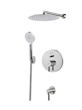 Kwc Built in Shower Systems style3 Zoe Model1 268x358 - دوش کامل توکار مدل زو تیپ ۳