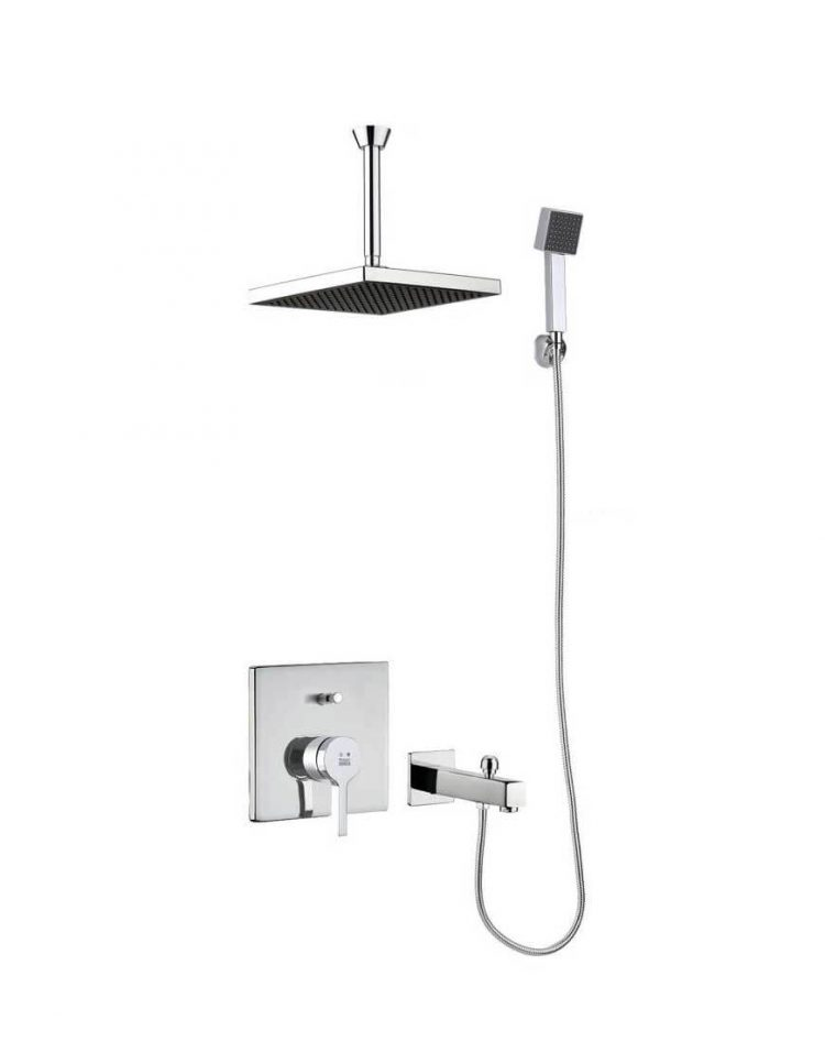 Kwc Built in Shower Systems style4 Ava Model1 750x957 - دوش کامل توکار مدل آوا تیپ ۴