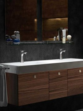 Kwc Centerset Bathroom Sink Faucets Verona Model1 268x358 - شیر دستشویی مدل ورونا