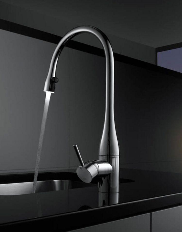 شیرآشپزخانه چراغدار و شاوری مدل ایو
