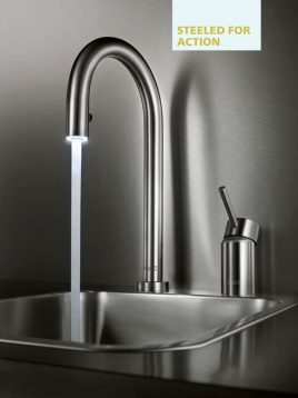 Kwc-Touch-Touchless-Kitchen-Faucets-Inox-Model