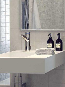 شیر دستشویی هوشمند kwc مدل آوا
