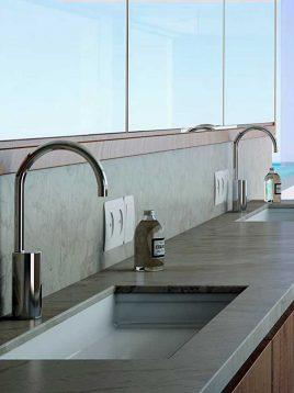 شیر دستشویی هوشمند kwc مدل هارمونیا