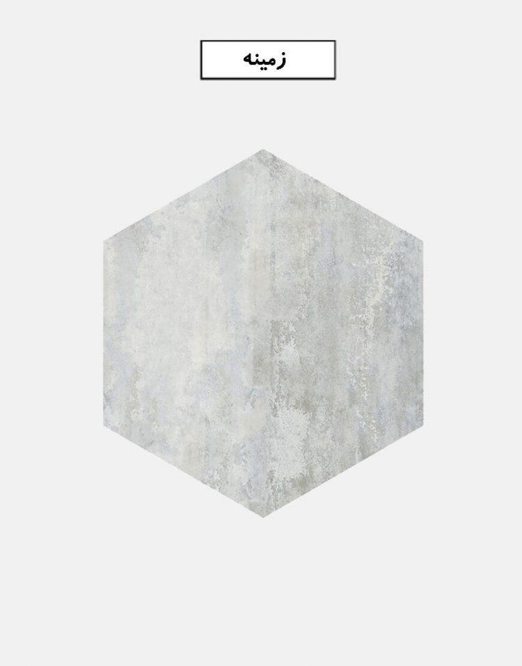 eefaceram mahoor ceramic tile base 750x957 - کاشی ایفاسرام مدل ماهور