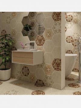 eefaceram sevia ceramic tile 2 268x358 - کاشی ایفاسرام مدل سیویا