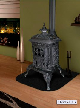 gas fireplace padideh model Cast iron 1 268x358 - بخاری چدنی پدیده