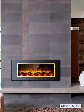 gas fireplace padideh model gold 120 1 268x358 - شومینه گازی ال سی دی پدیده مدل ۱۲۰ زوار طلایی