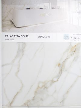 palermo floor ceramic calacatta 4 268x358 - سرامیک پالرمو ۸۰ در ۱۲۰ کلکته گلد