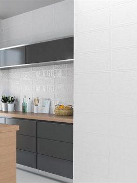 sorena ceramic tile uofo white 2 268x358 - کاشی ۲۵ در ۶۰ سورنا مدل یوفو کرم