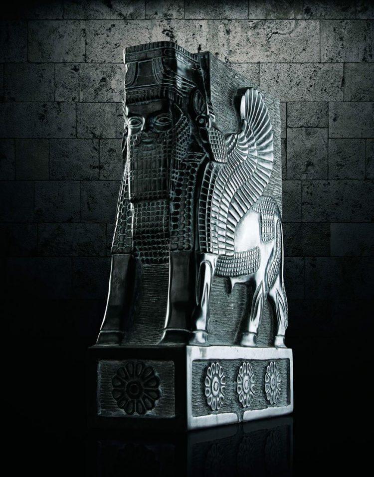 مجسمه سنگی آژیانه مدل st202