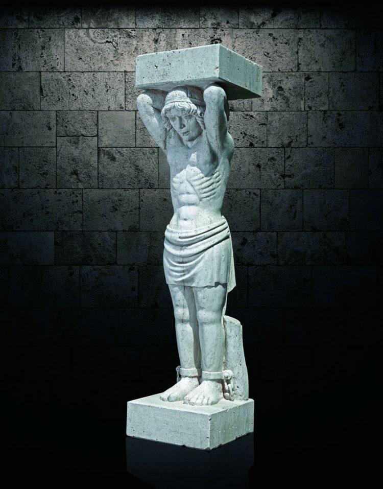 مجسمه سنگی آژیانه مدل st223