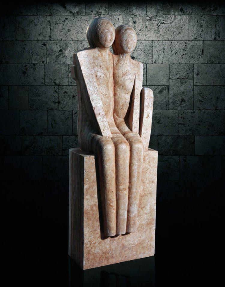 مجسمه سنگی آژیانه مدل st229