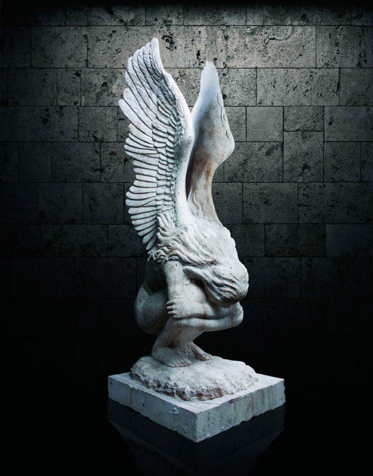 مجسمه سنگی آژیانه مدل st233