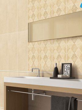 Tabriz caramic tile Gemma 2 268x358 - کاشی تبریز مدل گما