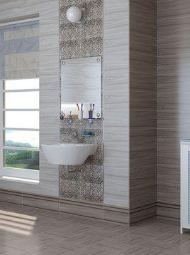 Tabriz caramic tile Midas Gray 2 268x358 - کاشی تبریز مدل میداس