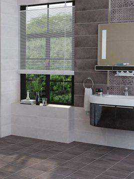 Tabriz caramic tile Minetto Grafito 2 268x358 - کاشی تبریز مدل مینتو ذغال سنگی