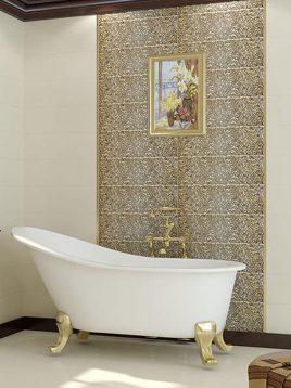 Tabriz caramic tile Palermo Beige 2 268x358 - کاشی تبریز مدل پالرمو بژ