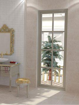 Tabriz caramic tile Unigue Beige 2 268x358 - کاشی تبریز مدل یونیک بژ