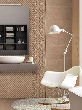 Tabriz caramic tile Wave Beige 2 268x358 - کاشی تبریز مدل ویو