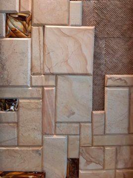 stone travertine antique model thirteen 1 268x358 - سنگ آنتیک تراورتن پازل طرح چوب