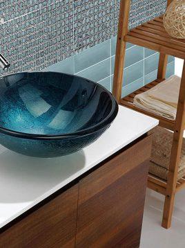 tabriz ceramic tile Alor Blue 2 268x358 - کاشی تبریز مدل آلور صورتی