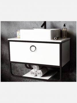 Verta Bathroom Vanities Armado2 268x358 - ست روشویی کابینت و آینه مدل آرمادو