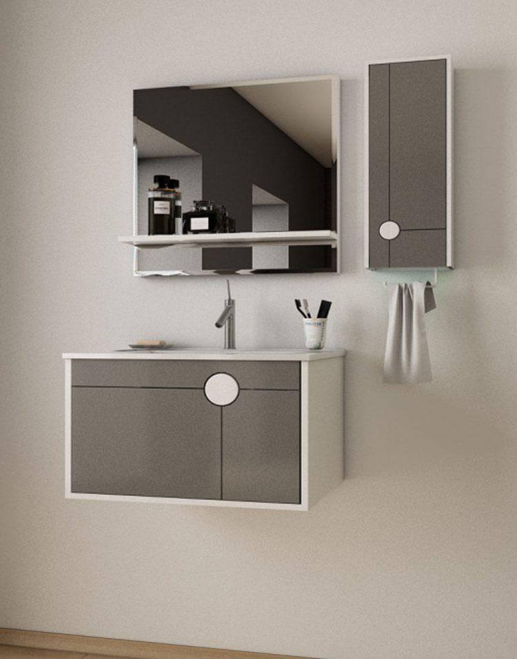 Verta Bathroom Vanities Vector 750x957 - ست روشویی کابینت و آینه مدل وکتور