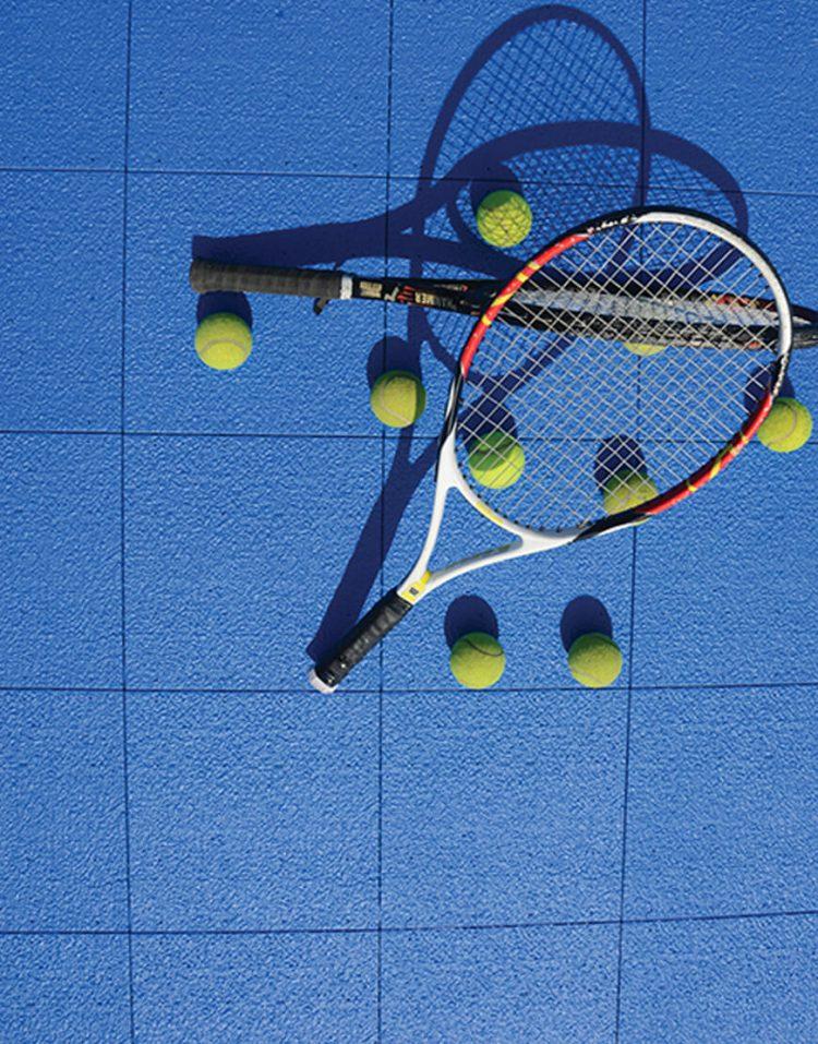 کفپوش زمین تنیس تایل مدل لوپ