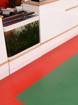 babol puzzle tile flooring small poolaki 2 268x358 - کفپوش تایلی پازل طرح پولکی ریز