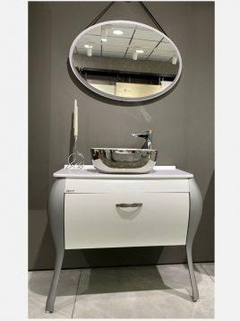 ست روشویی کابینت ورتا و آینه مدل ونوس