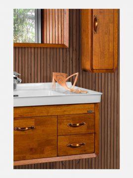 ست روشویی کابینت چوبی لوتوس مدل DIANA