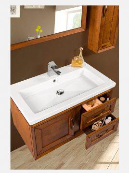 Lotus bathroom vanities HAWAII model2 268x358 - ست روشویی کابینت چوبی لوتوس مدل HAWAII