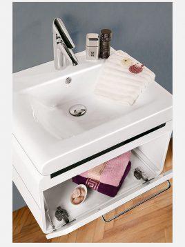 Lotus bathroom vanities LAWRENCE 600 model2 268x358 - ست روشویی کابینت مدرن لوتوس مدل LAWRENCE-600