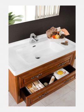 Lotus bathroom vanities LOGAN model2 268x358 - ست روشویی کابینت چوبی لوتوس مدل LOGAN