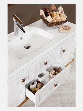 Lotus bathroom vanities MESSINA model2 268x358 - ست روشویی کابینت چوبی لوتوس مدل MESSINA