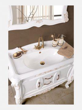 Lotus bathroom vanities MONACO model2 268x358 - ست روشویی کابینت چوبی لوتوس مدل MONACO