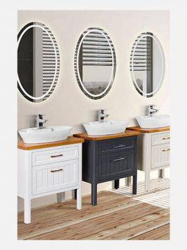 Lotus bathroom vanities OPAL model2 268x358 - ست روشویی کابینت چوبی لوتوس مدل OPAL