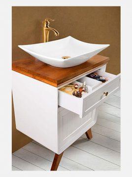 Lotus bathroom vanities VIENA model2 268x358 - ست روشویی کابینت چوبی لوتوس مدل VIENA