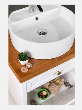Lotus bathroom vanities VOLGA model2 268x358 - ست روشویی کابینت چوبی لوتوس مدل VOLGA