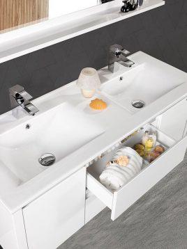 Lotus bathroom vanities pv2200 model2 268x358 - ست روشویی کابینت مدرن لوتوس مدل pv2200