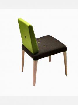Nazari accent chair with Handle and wooden long leg Punto Model2 268x358 - مبل بدون دسته نظری مدل پونتو