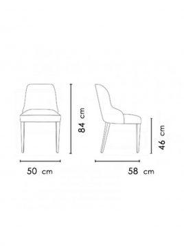 صندلی مدل فلورانس نظری