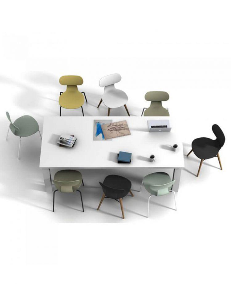صندلی بدون دسته نظری مدل یوگو