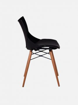 Nazari accent chair without Handle and wooden leg shel Model2 268x358 - صندلی بدون دسته پایه چوبی صنایع نظری مدل شل