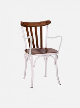 Nazari accent chairs Bresso model2 268x358 - صندلی فلزی نظری مدل برسو