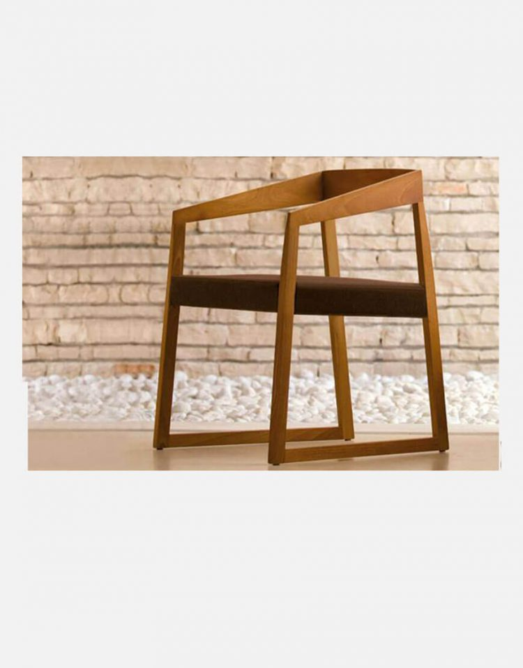 مبل دسته دار چوبی نظری مدل ساین